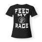 Preview: T-shirt Girly - SYNTHATTACK - Feed my Rage