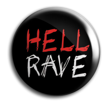 Button - BASSZILLA - Hell Rave Black