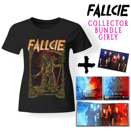 Bundle Girly - FALLCIE - Bad Blood (Lim. Digibook + T-shirt + Autogrammkarte)