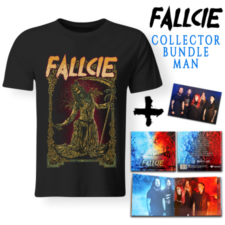 Bundle Man - FALLCIE - Bad Blood (Lim. Digibook + T-shirt + Autograph Card)