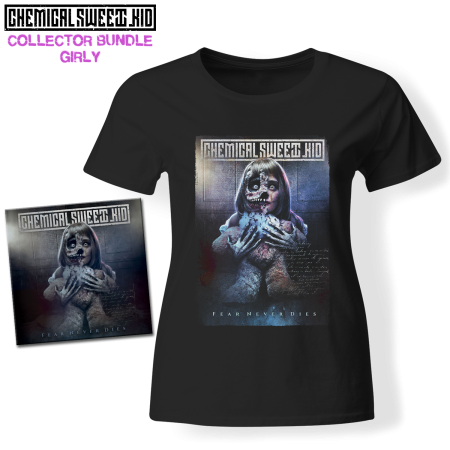 Bundle Girly - CHEMICAL SWEET KID - Fear Never Dies (CD + T-shirt)