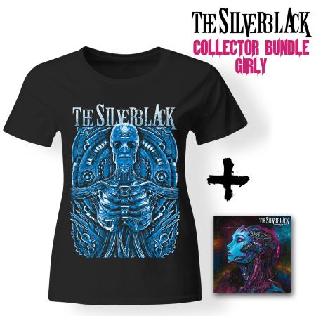 Bundle Girly - THE SILVERBLACK - Prototype 6:17 (CD + T-shirt)