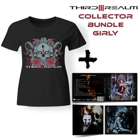 Bundle Girly - THIRD REALM - The Art Of Despair (Lim. Digipak + T-shirt)