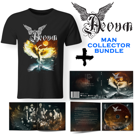 Bundle Man - AEVUM - Multiverse (Lim. Digipak + T-shirt)