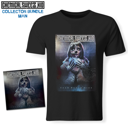 Bundle Man - CHEMICAL SWEET KID - Fear Never Dies (CD + T-shirt)