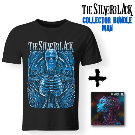Bundle Man - THE SILVERBLACK - Prototype 6:17 (CD + T-shirt)