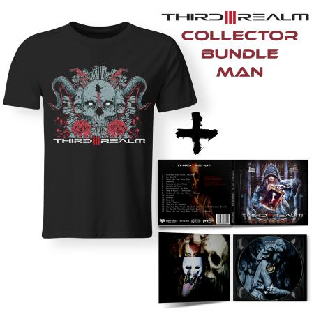Bundle Man - THIRD REALM - The Art Of Despair (Lim. Digipak + T-shirt)