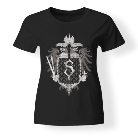 T-shirt Girly - THE SILVERBLACK - Empire