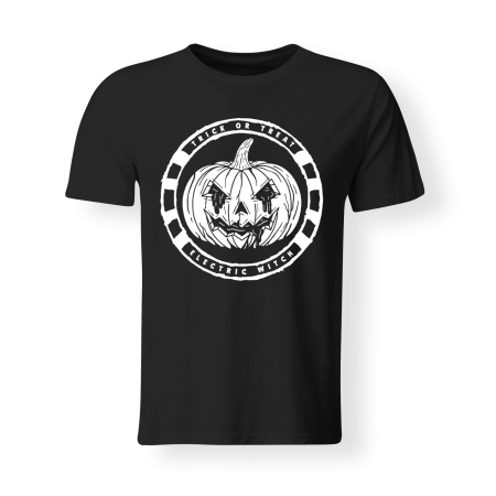 T-shirt Man - ELECTRIC WITCH - Trick or Treat