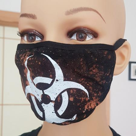 Mundschutz - DARKMERCH - Biohazard - CUSTOM