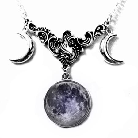 Necklace - Tripple Moon