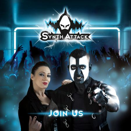 SYNTHATTACK - Join Us (Lim. Digipak)