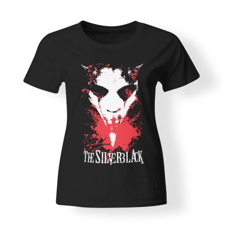 T-shirt Girly - THE SILVERBLACK - Demon