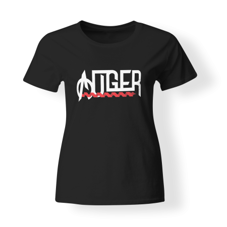 T-shirt Girly - AUGER - Logo