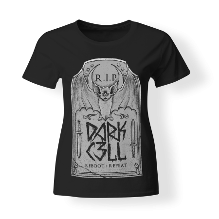 T-shirt Girly - DARKCELL - Grave