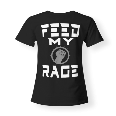 T-shirt Girly - SYNTHATTACK - Feed my Rage