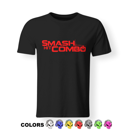 T-shirt Man - SMASH HIT COMBO - Logo 2018
