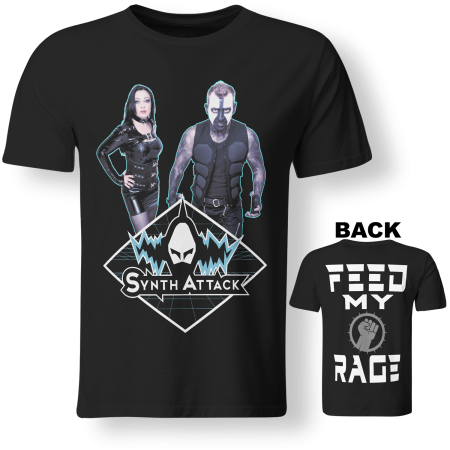 T-shirt Man - SYNTHATTACK - Feed My Rage