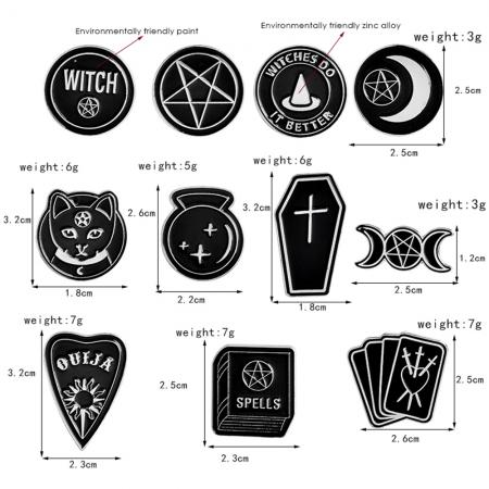 WitchBox Pins