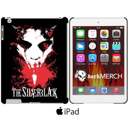 Ipad Case - THE SILVERBLACK - Demon
