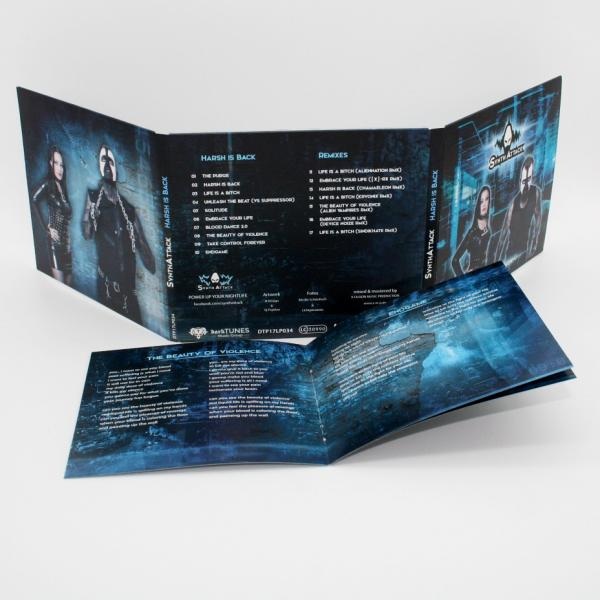SYNTHATTACK - Harsh is Back (Lim. Digipak)