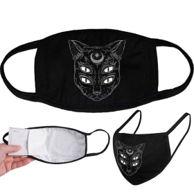 Face Mask - DARKMERCH - Witchcat