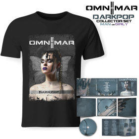 Bundle - OMNIMAR - DARKPOP (Lim. Digipak + T-Shirt)